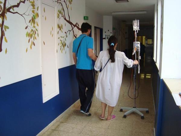 Andar con epidural