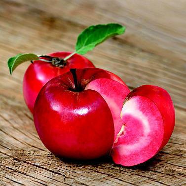 As vermelhas, maçãs do amor