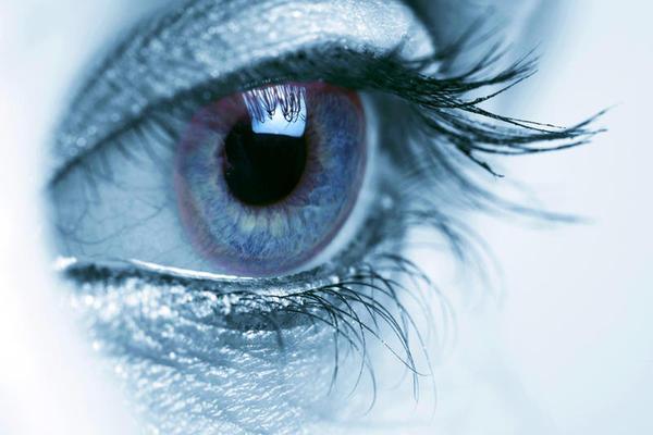 O olho lê o futuro