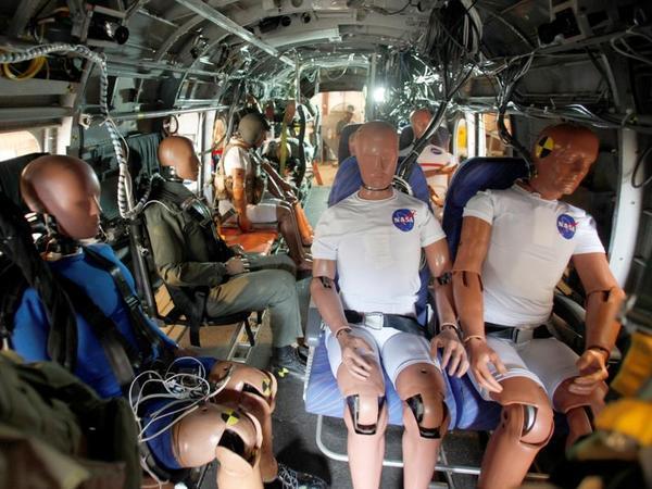 É assim que a NASA melhoria da segurança da aviação: estrellando manequins
