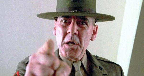 As 7 frases mais animais do sargento Da jaqueta metálica