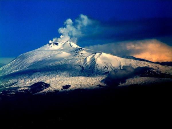 O vulcão Etna está se movendo